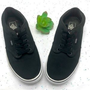 Black Vans Men 9.5 great condition